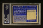 1963 Topps #59  Don Marshall  Back Thumbnail