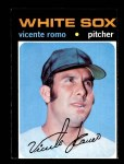 1971 Topps #723  Vincente Romo  Front Thumbnail