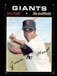 1971 Topps #461  Jim Hart  Front Thumbnail