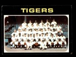 1971 Topps #336   Tigers Team Front Thumbnail