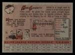 1958 Topps #24 YN Hobie Landrith  Back Thumbnail