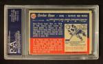 1957 Topps #42  Gordie Howe  Back Thumbnail