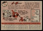 1958 Topps #345  Jim Hegan  Back Thumbnail
