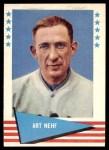1961 Fleer #65  Art Nehf  Front Thumbnail