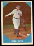 1960 Fleer #3  Babe Ruth  Front Thumbnail