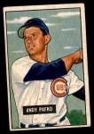 1951 Bowman #103  Andy Pafko  Front Thumbnail
