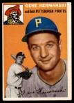 1954 Topps #228  Gene Hermanski  Front Thumbnail