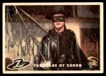 1958 Topps Zorro #86   The Blade Of Zorro Front Thumbnail