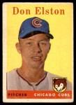 1958 Topps #363  Don Elston  Front Thumbnail