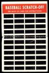 1970 Topps Scratch-Offs  Nate Colbert  Back Thumbnail