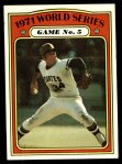 1972 Topps #227   -  Nelson Briles 1971 World Series - Game #5 Front Thumbnail
