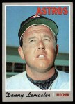 1970 Topps #178  Denny Lemaster  Front Thumbnail