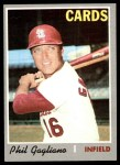 1970 Topps #143  Phil Gagliano  Front Thumbnail