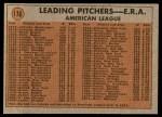 1972 Topps #176   -  Tom Haller In Action Back Thumbnail