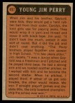 1972 Topps #497   -  Jim Perry Boyhood Photo Back Thumbnail