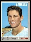1970 Topps #416  Joe Verbanic  Front Thumbnail