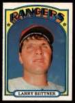 1972 O-Pee-Chee #122  Larry Biittner  Front Thumbnail