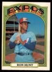 1972 O-Pee-Chee #110  Ron Hunt  Front Thumbnail