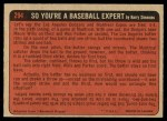 1972 O-Pee-Chee #294   -  Dan Frisella In Action Back Thumbnail
