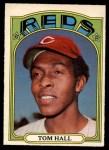 1972 O-Pee-Chee #417  Tom Hall  Front Thumbnail