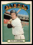 1972 O-Pee-Chee #384  Dave Campbell  Front Thumbnail