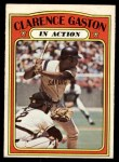 1972 O-Pee-Chee #432   -  Cito Gaston In Action Front Thumbnail