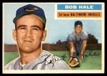 1956 Topps #231  Bob Hale  Front Thumbnail