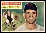 1956 Topps #314  Hobie Landrith  Front Thumbnail