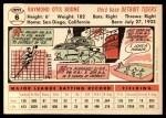 1956 Topps #6  Ray Boone  Back Thumbnail