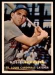 1957 Topps #182  Hobie Landrith  Front Thumbnail