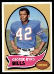 1970 Topps #119  George Byrd  Front Thumbnail