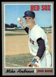1970 Topps #406  Mike Andrews  Front Thumbnail