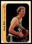 1986 Fleer Sticker #2  Larry Bird  Front Thumbnail