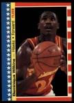 1987 Fleer Sticker #7  Dominique Wilkins  Front Thumbnail