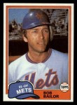 1981 Topps Traded #732 T Bob Bailor  Front Thumbnail