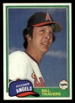 1981 Topps Traded #845 T Bill Travers  Front Thumbnail