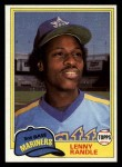 1981 Topps Traded #817 T Lenny Randle  Front Thumbnail
