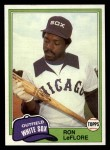 1981 Topps Traded #791 T Ron LeFlore  Front Thumbnail
