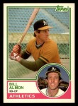 1983 Topps Traded #2 T Bill Almon  Front Thumbnail