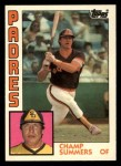 1984 Topps Traded #113  Champ Summers  Front Thumbnail