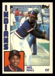 1984 Topps Traded #47  Mel Hall  Front Thumbnail