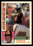 1984 Topps Traded #75  Carmelo Martinez  Front Thumbnail