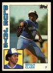 1984 Topps Traded #25  Bryan Clark  Front Thumbnail