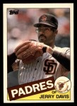 1985 Topps Traded #28 T Jerry Davis  Front Thumbnail