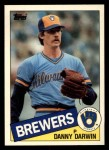 1985 Topps Traded #26 T Danny Darwin  Front Thumbnail