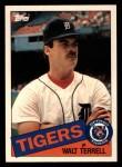 1985 Topps Traded #119 T Walt Terrell  Front Thumbnail