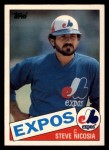 1985 Topps Traded #87 T Steve Nicosia  Front Thumbnail
