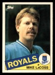 1985 Topps Traded #69 T Mike LaCoss  Front Thumbnail