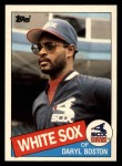 1985 Topps Traded #8 T Daryl Boston  Front Thumbnail