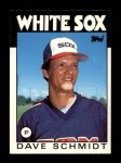 1986 Topps Traded #99 T Dave Schmidt  Front Thumbnail